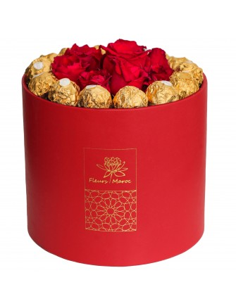 Love and Chocolates (red box)